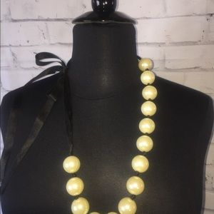Beaded/bauble necklace